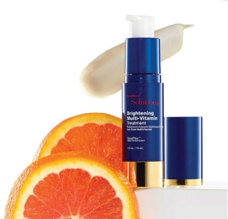 brightening treatemtn vit c
