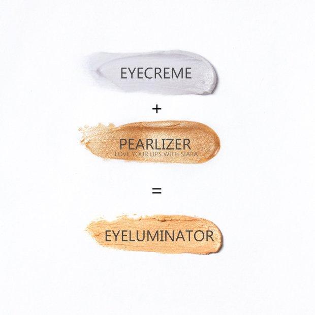 eyecreme + pearlizer